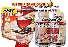 Super Mega Clean Detox Whole Body Liver, Kidney, Pancreas & Colon 100 Caps + tea
