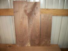 3 Pc Walnut Lumber Wood Kiln Dried Boards Lot 296Z Rustic