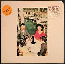 Led Zeppelin Presence PROMO USA 1976 Gatefold LP NM-/NM