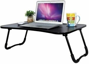 LARGE FOLDING BED TABLE LAPTOP TRAY 70 x 48 cm Computer Breakfast Desk Stand NEW