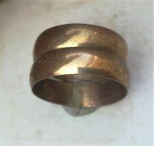 rare ancient Romane bronze rings viking artifact bronze ring authentic Vintage