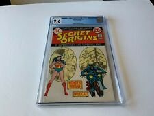 SECRET ORIGINS 3 CGC 9.6 WHITE PAGES WONDER WOMAN WILDCAT DC COMICS