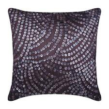 """Decorative Silver 26""""x26"""" Euro ShamCover,Silk Mother Of Pearl - Pearl Nostalgia"""