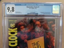 Dooms Day Clock #1 (2018) CGC 9.8 WP New Rorschach, 1st Print- DC Comics Lot-2