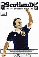 SCOTLAND EPISTLES FOOTBALL MAGAZINE #8 - TARTAN ARMY FANZINE / MAGAZINE