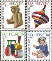 Schweiz 1331-1334 (kompl.Ausg.) gestempelt 1986 Pro Juventute