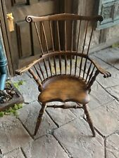 Dollhouse Miniatures ~ IGMA Artisan Jim Ison Windsor Chair