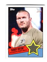 WWE Randy Orton 2015 Topps Heritage Event Used Shirt Relic Card