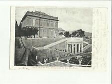 134608 antica cartolina di genova villa pallavicini in via peschiera
