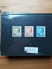 timbre luxembourg (th) lot 58   neufs  n869/71   grand duc