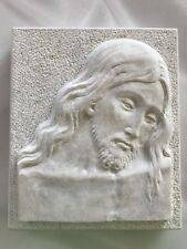 Bassorilievo Marmo | Cristo | Lavorata A Mano | Pezzo Unico