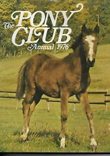 Pony Club Annual 1976 - Hardback with dust wrapper