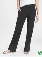 New ATHLETA Chelsea Wide Leg Pant BLACK Size 0 Extra Small XS
