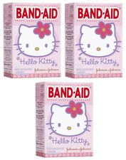 3 Pack - BAND-AID Bandages Hello Kitty Assorted Sizes 20 Each