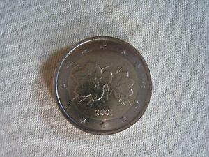 Pièce 2 euro  Finlande 2001