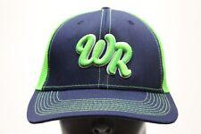 WR LOGO - IVORY HEADWEAR - ONE SIZE ADJUSTABLE SNAPBACK BALL CAP HAT f8dd7eb4946a