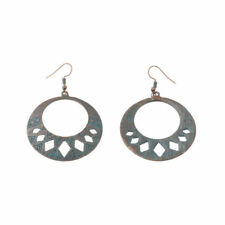 Alloy Earrings For Lady Dw-Eh-Hqe632 Vintage Bohemian Circular Hollow Carved