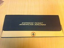 Vintage United Airlines/American Airlines Ticket lot Commuter Express envelope