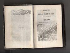 manuali dei divoti del SS:cuore di gesu' - 1824 -