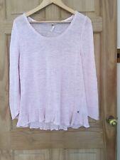 White Stuff Jumper Size 16 Soft pink