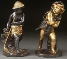 19th C. Bronze Statue Figures; Grouping, Eugene Laurent.