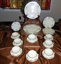 BACON HILL FINE CHINA BY LENOX - 24 PIECES - OLDER - E502