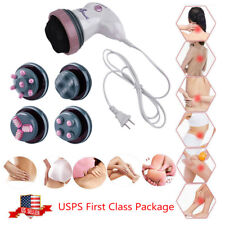 Massager Full Body Handheld Electric Vibrating Head Neck Back Relax Body