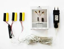 Batterie Adapter 3 x 2 AA Mignon Batterien 3,2V Wandler 4m Kabel Netzteil