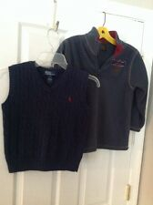 Timberline Sweater And Polo Vest Size 7