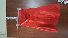 LADIES ASOS RED SATIN DRESS SIZE 8
