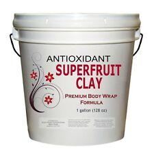 Premium Pomegranate Super Fruit Clay Body Wrap Antioxidant Formula Wholesale