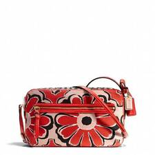 AUTH $168  Coach NEW Poppy Floral Scarf Flight CB Bag