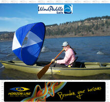 "Kayak ""Cruiser Wind Paddle"" Instant Sail Kit. Kayaking Canoe Sailing Double Sea"