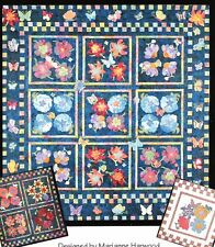 Butterflies & Bloomers applique pattern Quilt Country