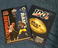 Cincinnati Bengals v Los Angeles Rams Official NFL Wembley Programme 27/10/19