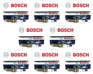 Porsche Cayenne Bosch Spark Plugs 0242245581 99917015190 Set of 8