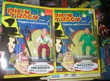 Dick Tracy Coppers & Gangsters Series Pruneface And Influence Figures, Unopen