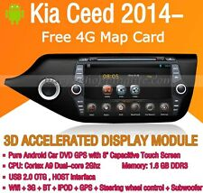 2Din Android 5.1 Car DVD Radio Stereo GPS Wifi 3G BT for Kia CEED 2014 2015 2016