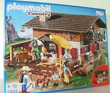 Playmobil Almhütte 5422 Bergwelt Berghütte Hütte Alpen Neu & OVP Country