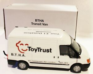 Britains Large scale 1:32 MK6 FORD TRANSIT Ford Charities MK6 Mint