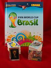 Panini WM 2014 Satz komplett + Hardcover Album = alle Sticker + Leeralbum WC 14