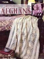 Quiet Moment Afghans by Rena Stevens -Leisure Arts Crochet Pattern Leaflet #3200