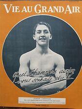 LA VIE AU GRAND AIR 1914  N 815  GEORGES CARPENTIER  (boxe)  LAUREAT DU CONCOURS
