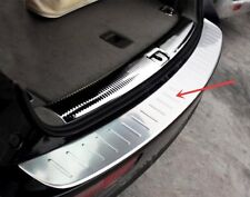 Stainless Steel Rear Bumper Protector Sill Plate Cover For Audi Q5 2009-2017