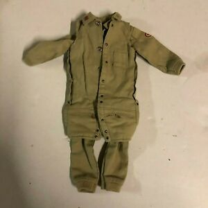 VTG GI Joe Style Air Force Scramble Pilot Uniform for 12 inch Action Figure