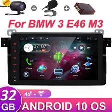 """32gb Android 10 Autoradio per BMW 3 e46 m3 GPS Navigazione con BT WIFI USB 9""""ips"""