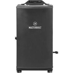 "Masterbuilt MES130P 30"" Digital Electric Smoker, Bluetooth, schwarz"