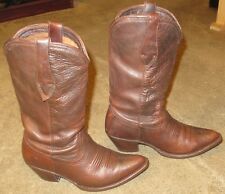 Wmns ARIAT Josefina Brown All Leather Western Cowgirl Boots sz 7.5 B