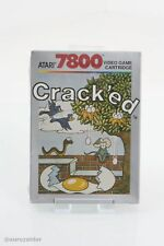 Atari 7800 Crack'ed Video Game Cartridge OVP original verschweisst