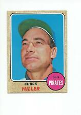 CHUCK HILLER 1968 Topps card #461 Pittsburgh Pirates NR MT